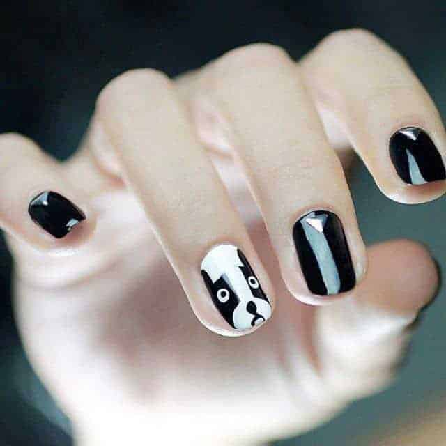 30 Cute Dog Nail Designs We Love