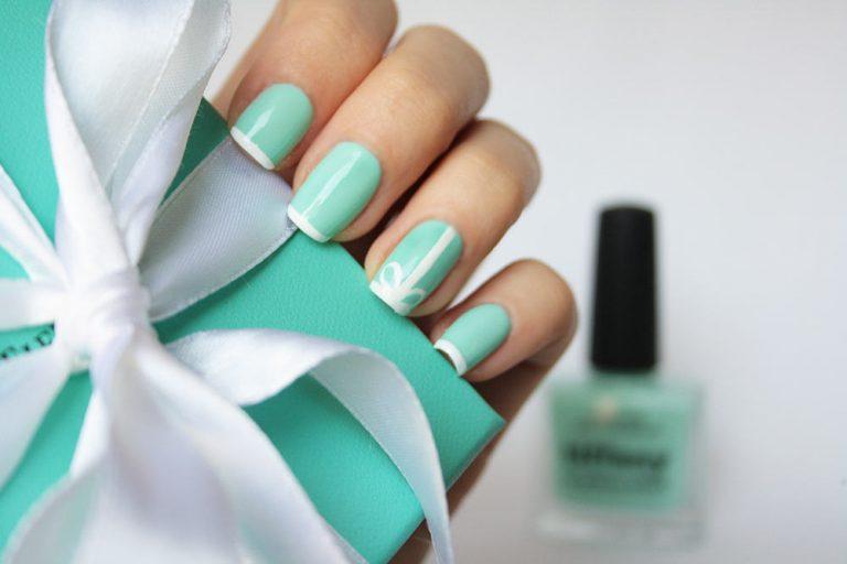 31 Posh Tiffany Blue Nail Polish Designs