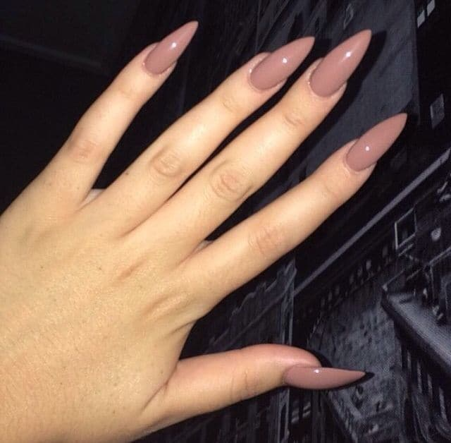 Who Says That One Single Nail Color Can T Look Beautiful Mono Colored Nails With No Accessories Are The Best Choice If You Clumsy Little
