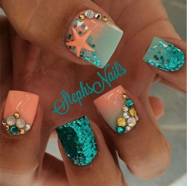 - 20 Epic Mermaid Nail Designs To Rejuvenate Under The Sea Vibe