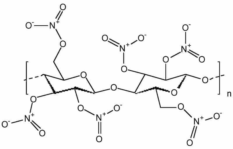 Nitrocellulose Structure