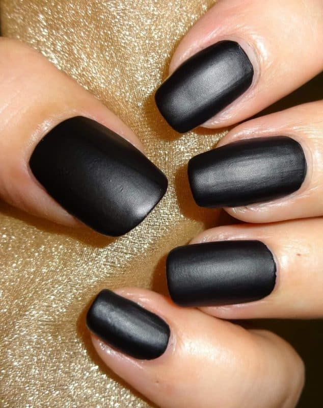 black Matte Base Coat