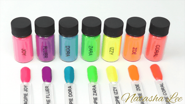Colorful Nail Pigments