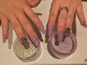 Beautiful SNS Manicure