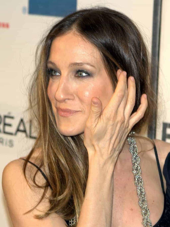 Sarah Jessica Parker natural nail design