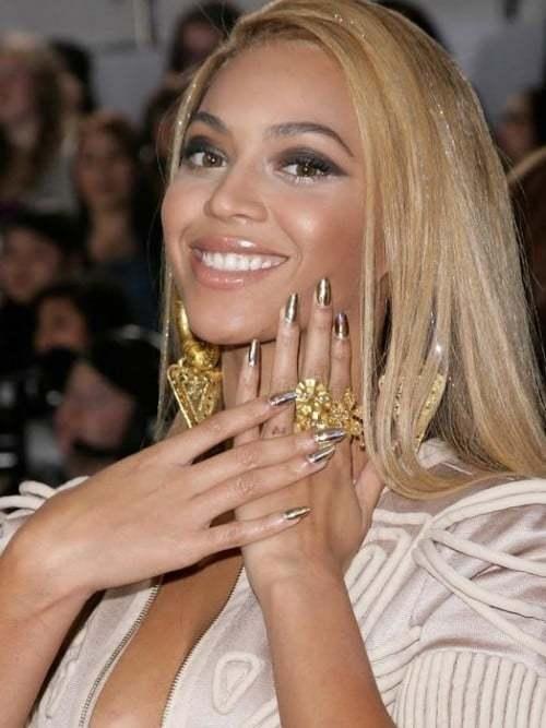 Beyonce Elegant Nail Design