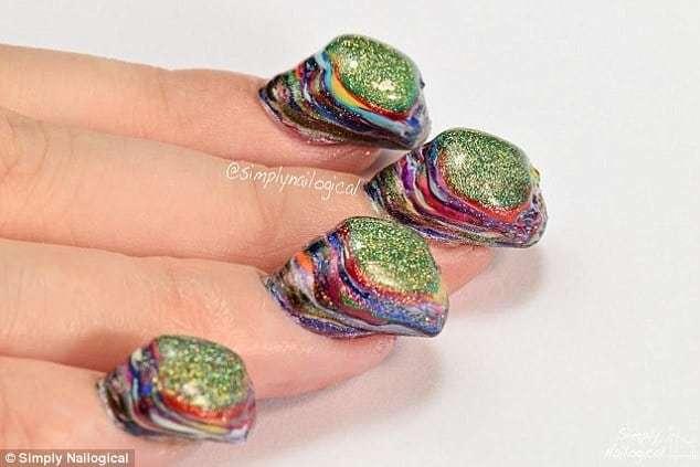 layers of nail polish