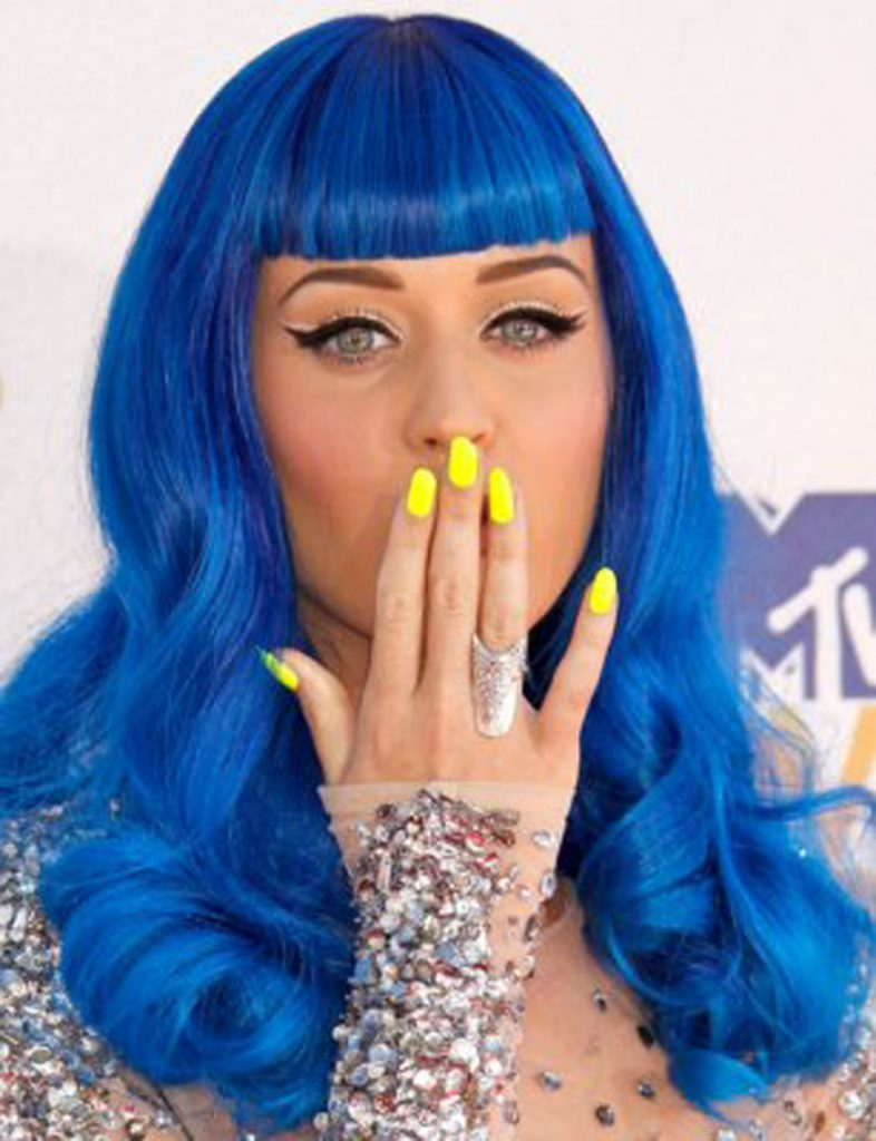 Katy Perry beautiful nail design