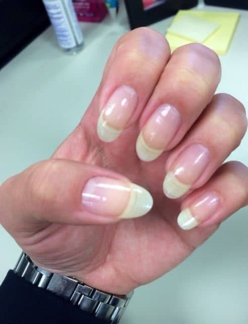 file square nail: grow long nails