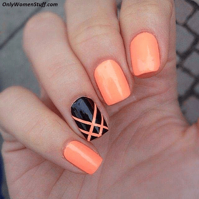 70 Simple Easy Nail Designs For 2018 Naildesigncode