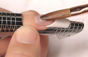 Applying Acrlic Nails