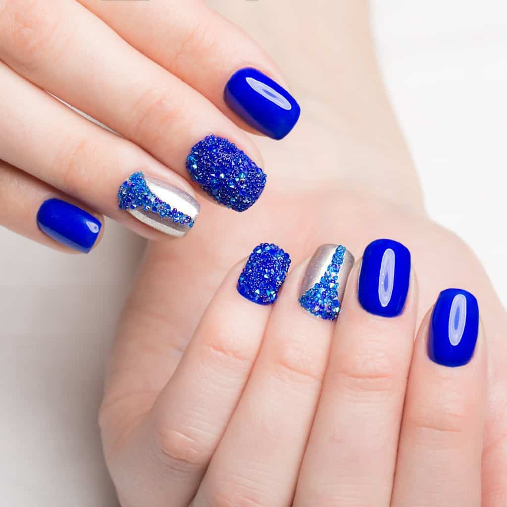 How Short Can Acrylic Nails Be? 41 Styles In Trend ...