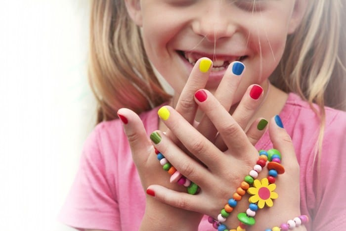 babies nail art and design