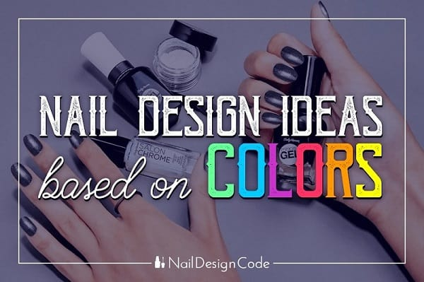 nail design by colors