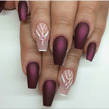 burgundy nail designs top 20 hot and happening designs