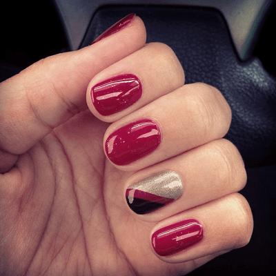 38 spectacular shellac nail design ideas