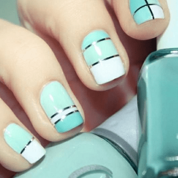 20 Posh Tiffany Blue Nail Polish Designs – NailDesignCode