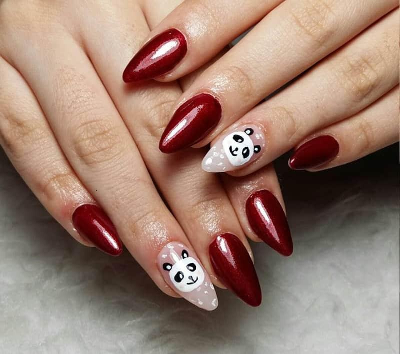 red panda nail designs