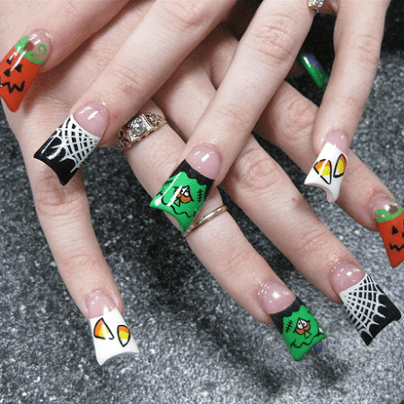 20 Funky Nail Designs That Are Totally Adorable Naildesigncode