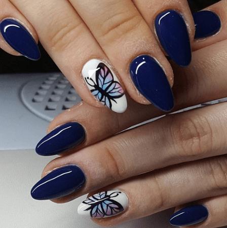 25 hottest royal blue nail ideas for 2020  naildesigncode