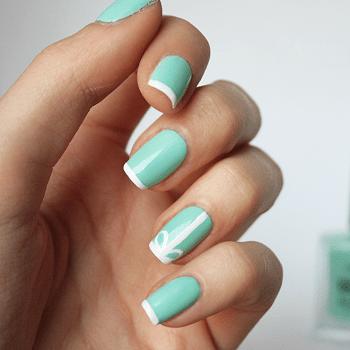 20 posh tiffany blue nail polish designs  naildesigncode