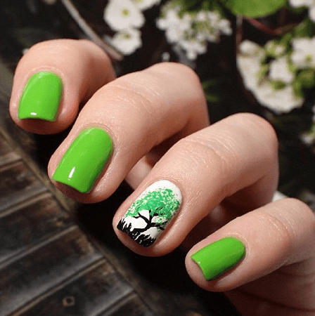 35 Soothing Lime Green Nail Designs To Die For Naildesigncode