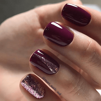 Finally, you can see that maroon nail designs are sexy enough to attract  people and kill haters. In addition to that, light green nail designs are  cute and ... - 20 Fascinating Light Green, Maroon & Airbrush Nails