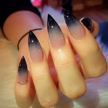 20 Majestic Pointed Nail Designs For 2018 Naildesigncode
