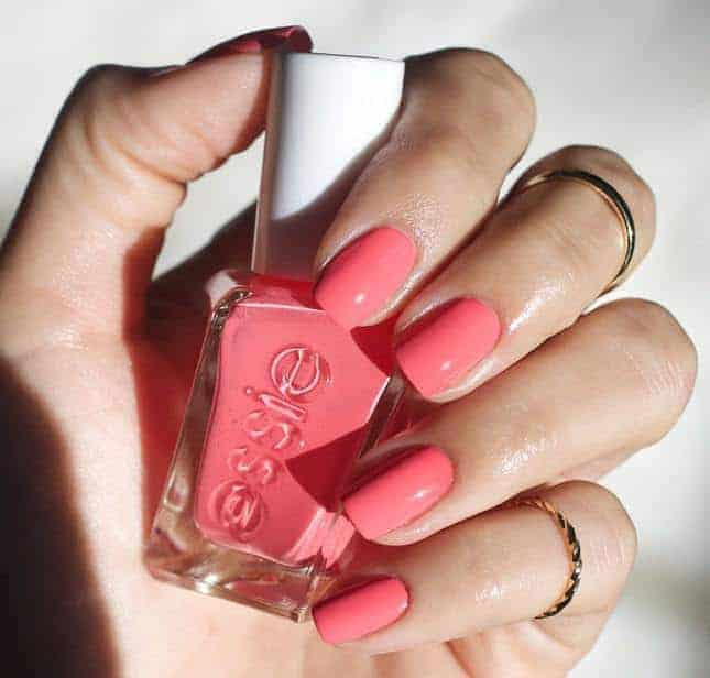 35 Stylish Peach Nail Designs for A Trendy Look