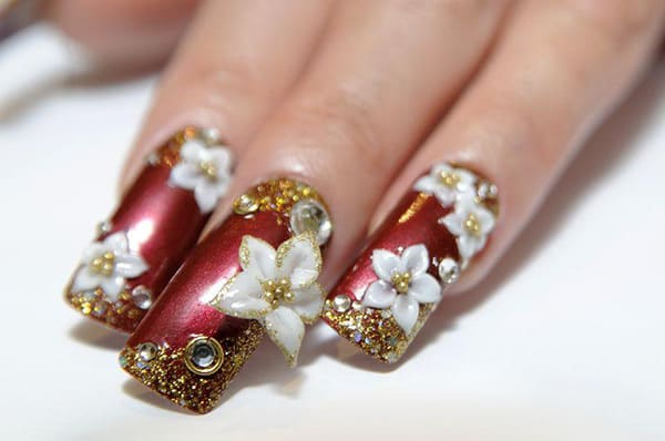 20 aristocratic bling nail designs for 2018 naildesigncode bling nail design for women prinsesfo Image collections