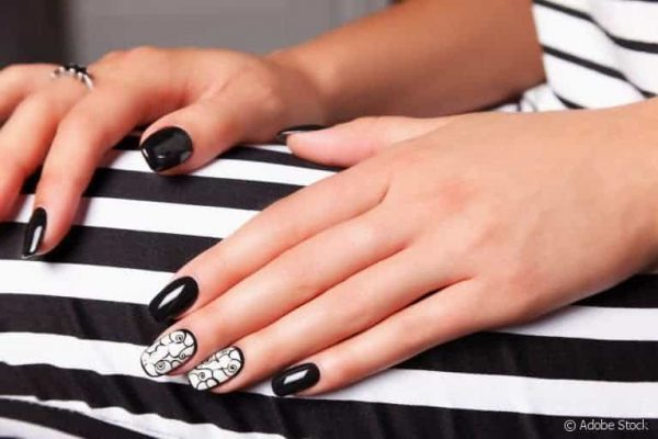 different artificial nail types