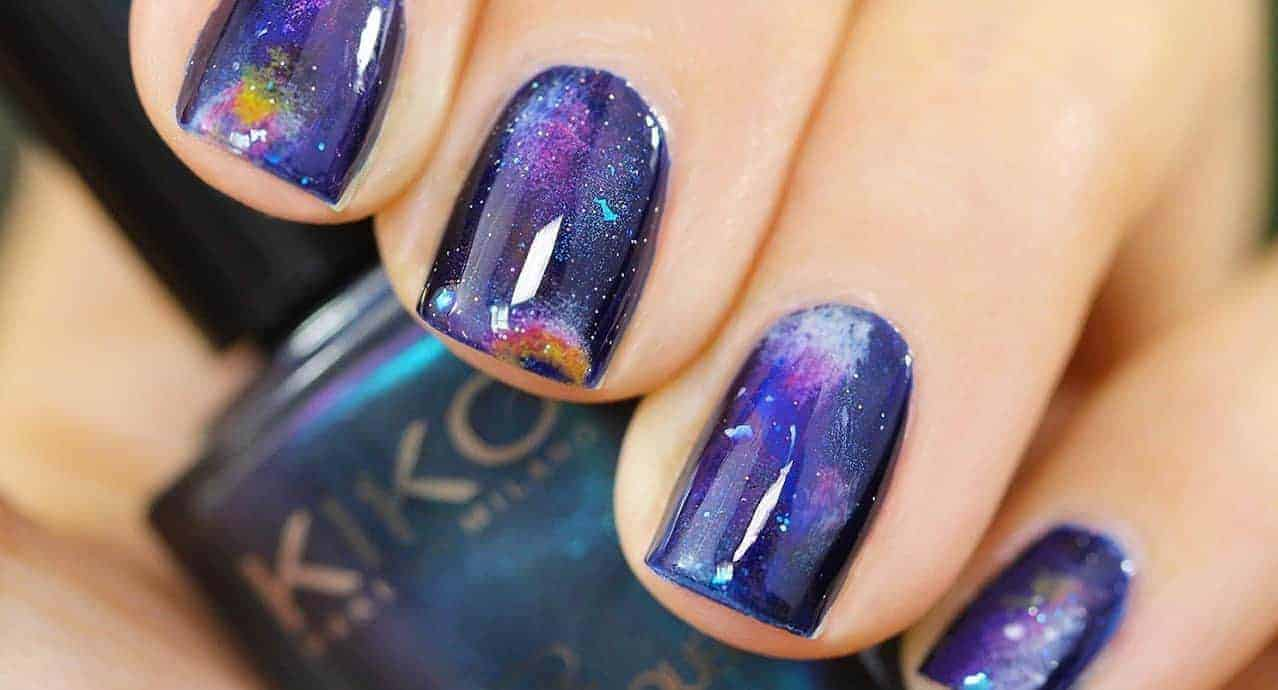 20 Fascinating Galaxy Nail Designs from Out of the World