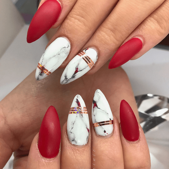 As a conclusion, white, the extremity and natural mixture of colors and the  opposite of black, is the best color that should be entered in our daily  routine ... - 61 Striking White Nail Designs For 2018 – NailDesignCode
