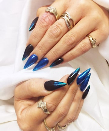 15 ontrend short stiletto nails for 2020  naildesigncode