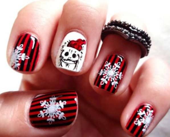 Snowflake Nail Designs 25 Ideas To Celebrate Winter