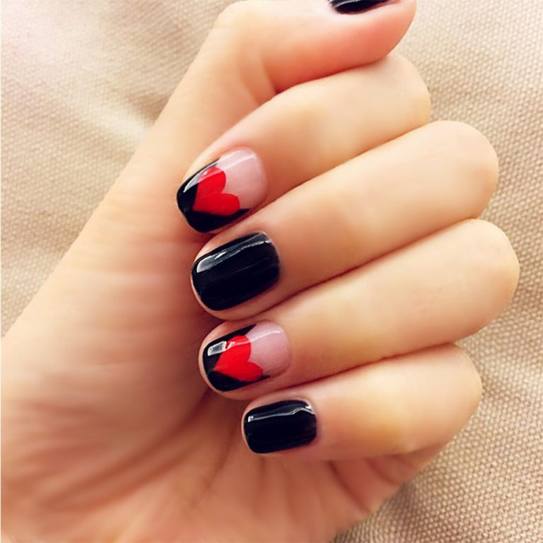 25 Fabulous Short Square Nails for Everyday Look