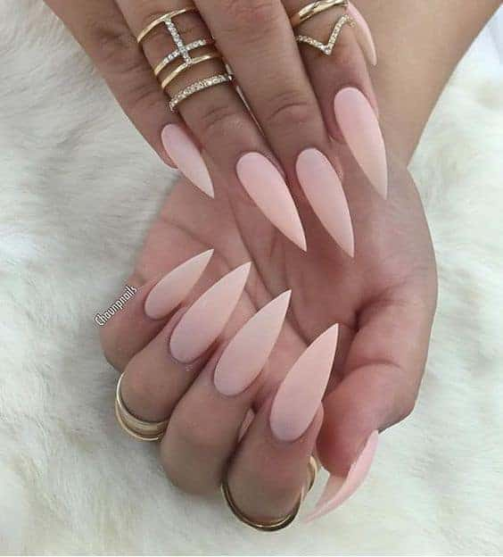 20 Nude Stiletto Nails to Complement Any Look