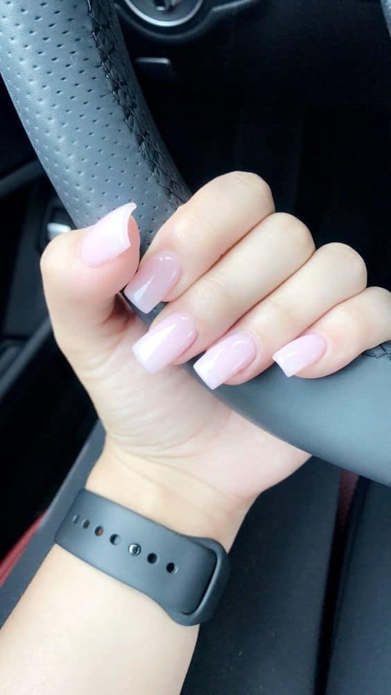 Gel Acrylic Square Shape Nail