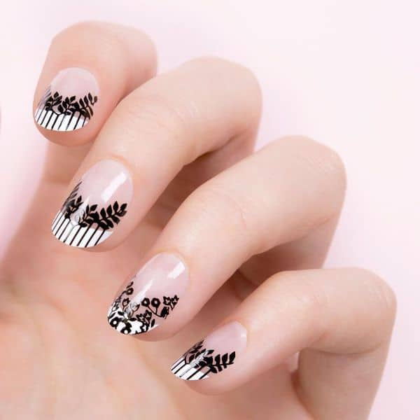 French Round Nail Designs