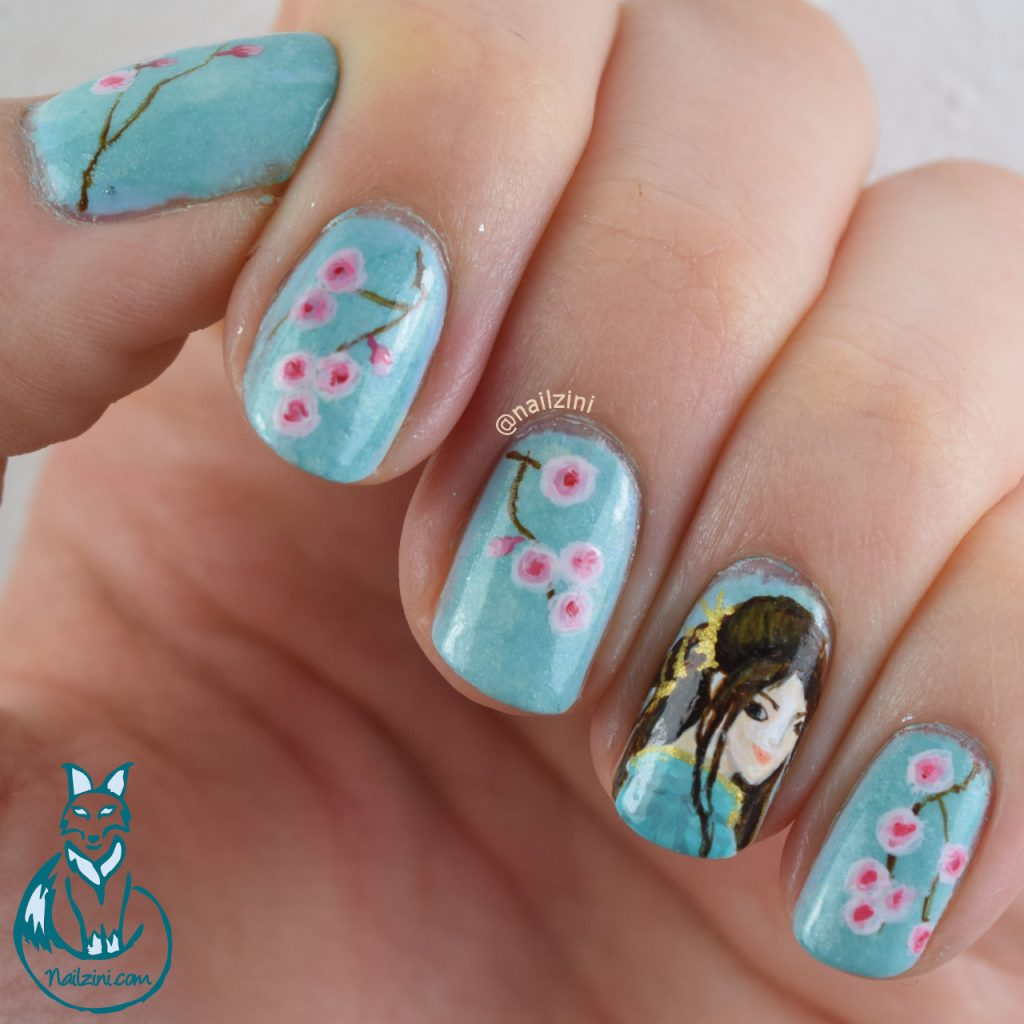 10 Charming Cherry Blossom Nail Art – NailDesignCode