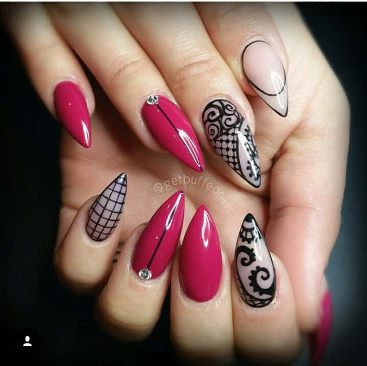 This Hot Pink And Black Combination Is Something Extremely Attractive Using Along With Other Colors A Common Trend You Can Give New