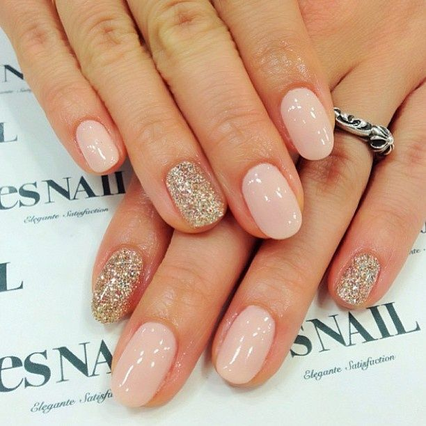 Subtle Round Nail Designs - 20 Tempting Round Nail Designs To Get Trendy