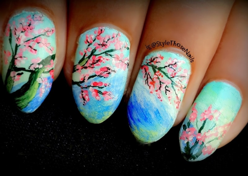 Cherry Blossom Nail Paint