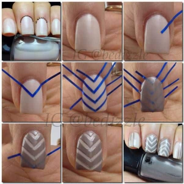 How To Do Nail Art 12 Diy Nail Design Inspiration Naildesigncode
