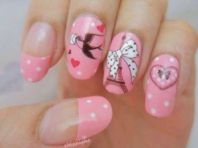 Short Oval Shaped Nail