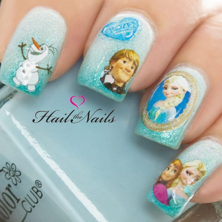 15 Frozen Nail Designs You Don't Want to Miss
