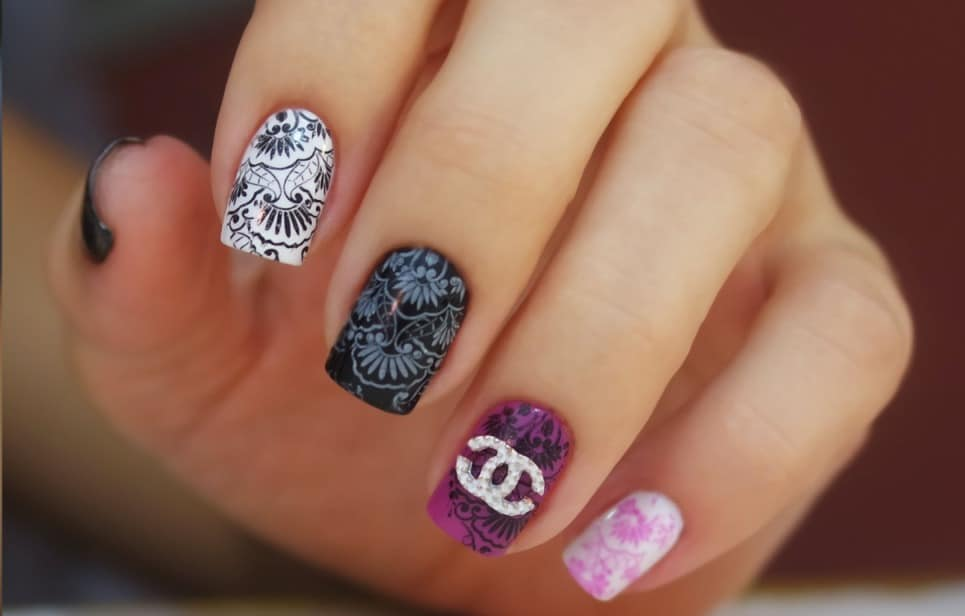 7 Chanel Nail Designs To Flaunt Love For Brands Naildesigncode