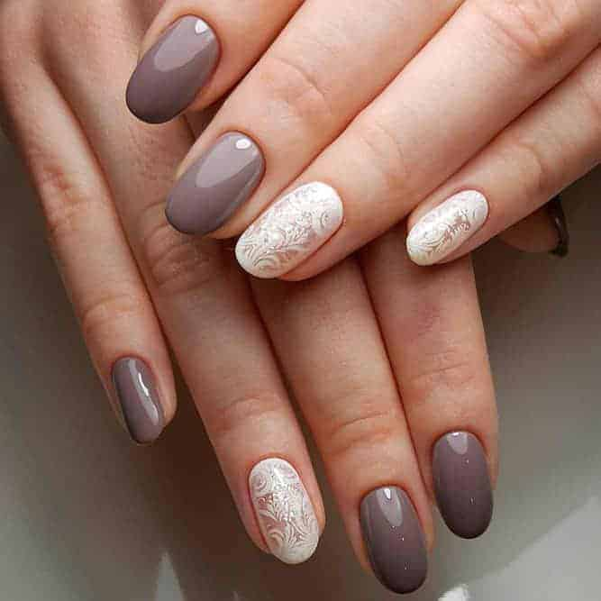 7 Magnificent Short Oval Nails to Accentuate Your Style