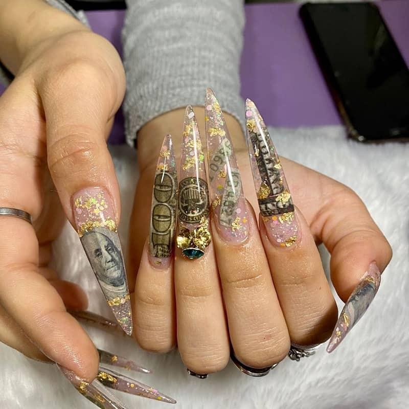 dollar nail art foil