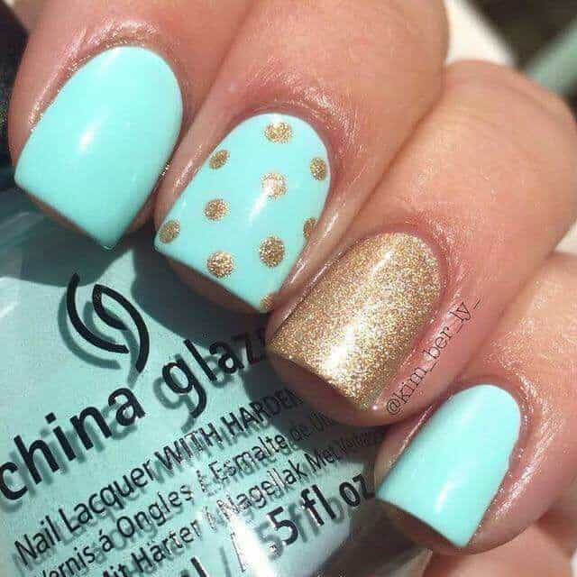 20 Mesmerising Mint Green Nails for Refreshing Look